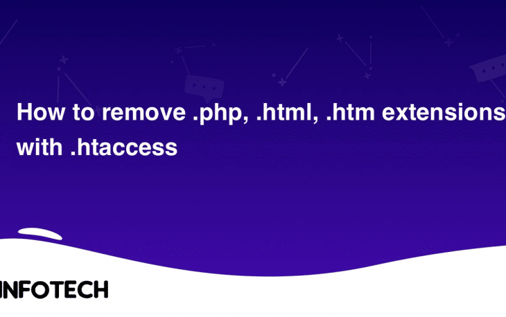 How to remove .php, .htm and .html extension using .htaccess