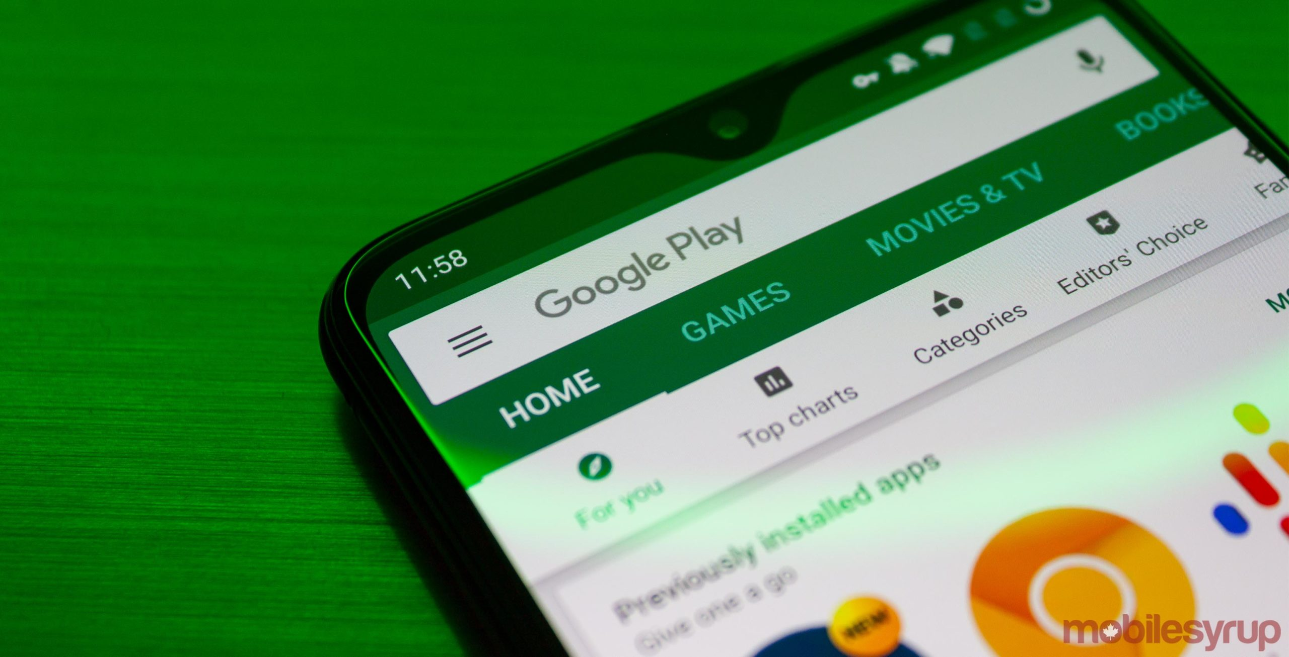 Google Play hides search results for 'corona virus' Android apps